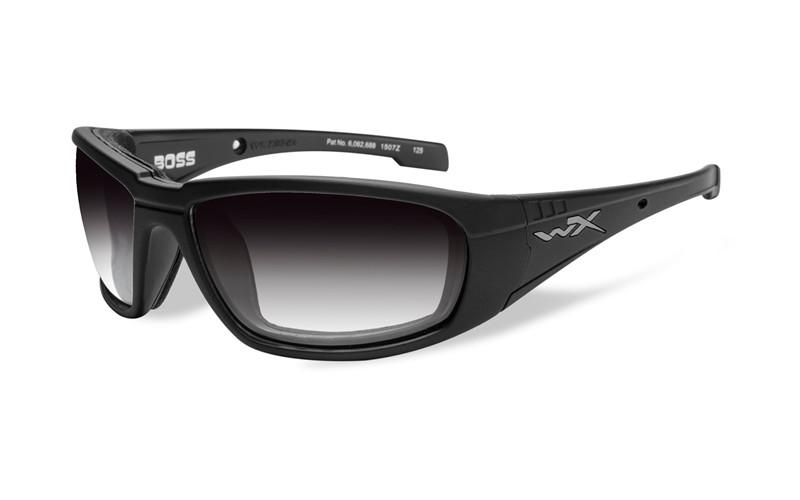 10601a94e WILEY X MOD. BOSS LIGHT ADJUSTING GREY LENS MATTE BLACK FRAME - WY ...