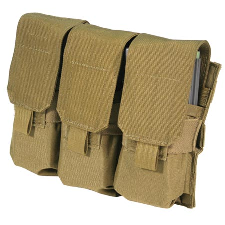 BLACKHAWK S.T.R.I.K.E. M4- Triple Mag Pouch (Holds 6) w/Speed clips