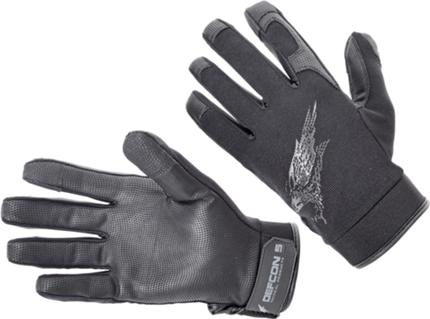 DEFCON 5 SHOOTING GLOVES WITH LEATHER PALM