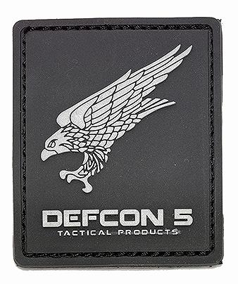 DEFCON 5 LOGO RUBBER PATCH