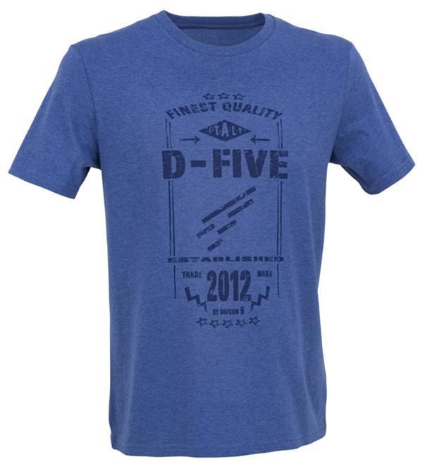 D.FIVE T-SHIRT WITH FRONT LOGO DESIGN