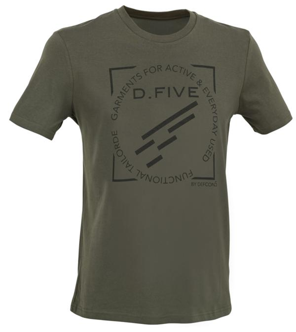 D.FIVE T-SHIRT WITH FRONT CHEST LOGO