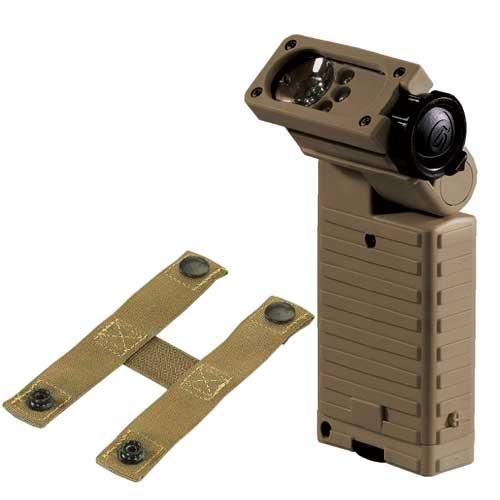 STREAM LIGHT SIDEWINDER AVIATION MODEL- INCLUDES MOLLE RETAINER AND 2 AA ALKALINE BATTERIES. BOXED